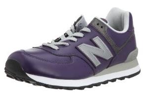 ニューバランス NEW BALANCE NB M574 紫色